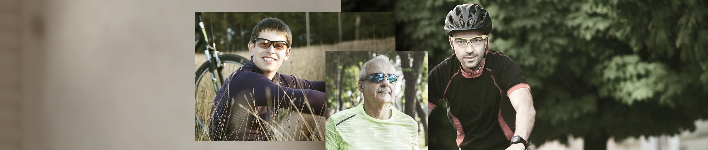 Glassesgallery - 男士運動眼鏡 Men sportsglasses banner